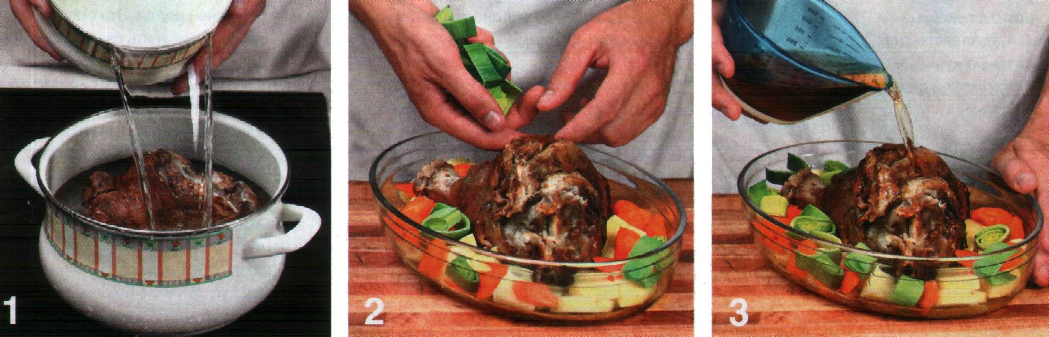 рулька свиная без кожи рецепт в духовке