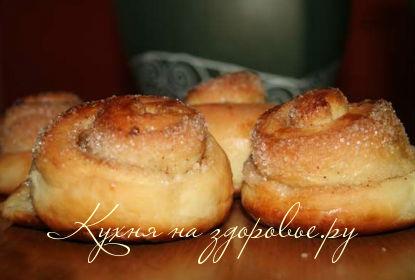 Как делать булочки с сахаром 34