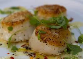 Фото: горячее блюдо на день рождения - рыбный эскалоп