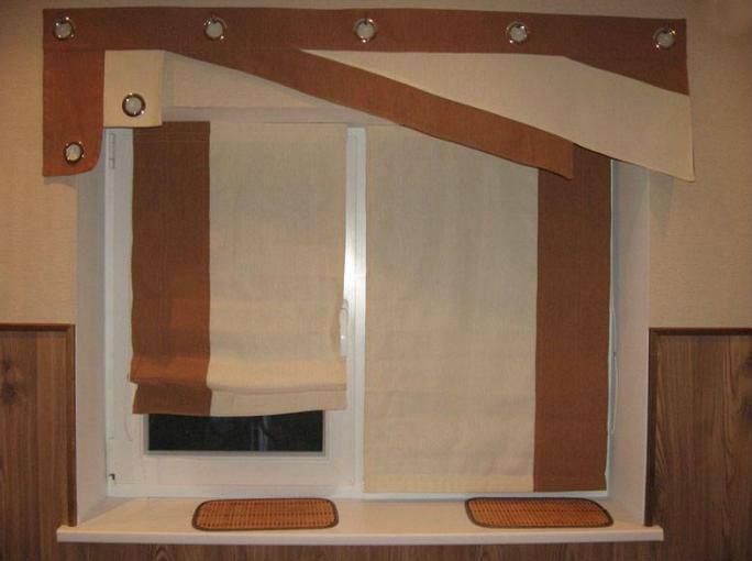 Дизайн тюлей на кухню фото