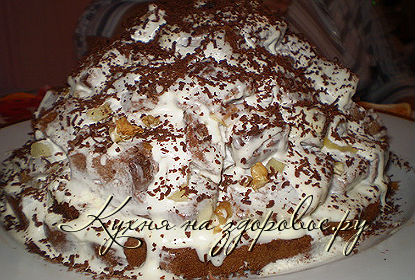 Торт графские развалины со сгущенкой