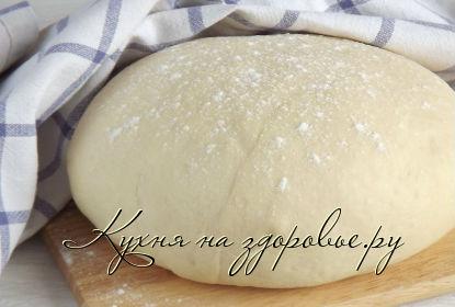 Фото: Дрожжевое тесто на опаре для пирожков.