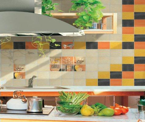 Дизайн кухни фартуки из плитки