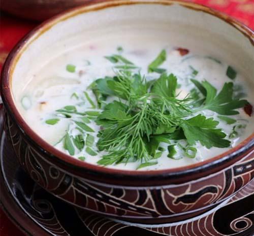 Фото: Рецепт окрошки на кефире классический