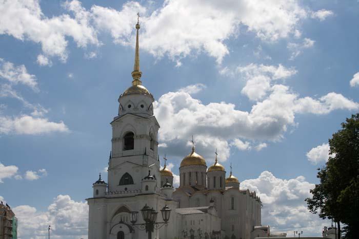 Успенский Кафедральный Собор во Владимире.