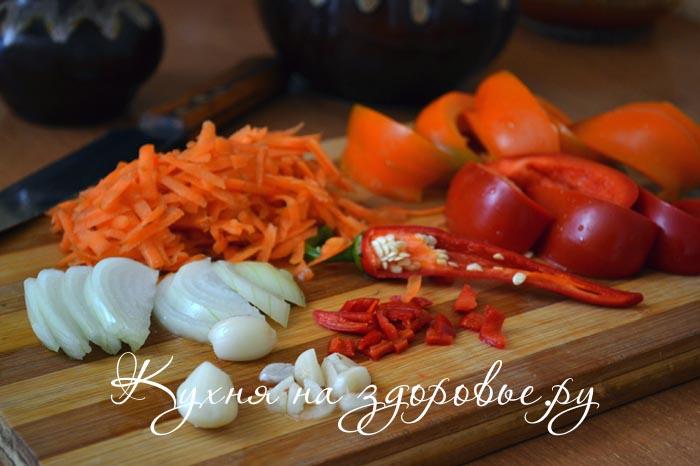 Болгарское лечо из перца и томатной пасты