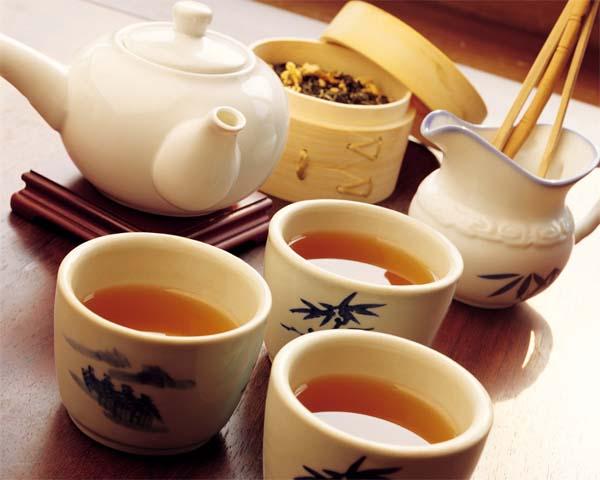 Приготовление чая.