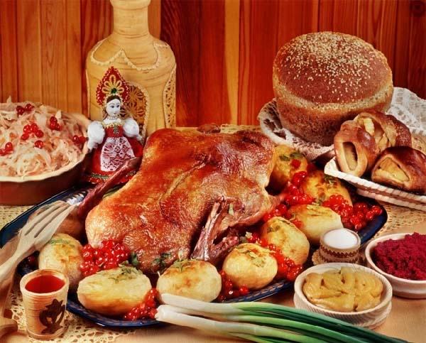 Традиции русской кухни.