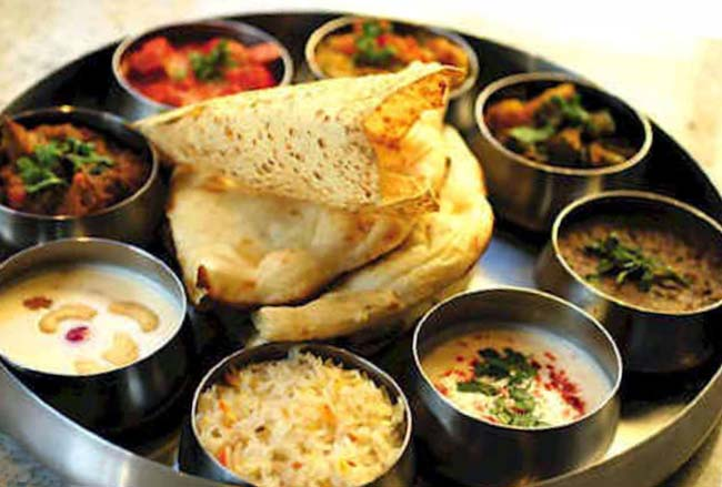 Блюда индийская кухни.