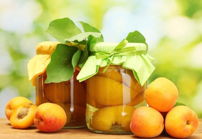 Заготовки: абрикосовый компот на зиму