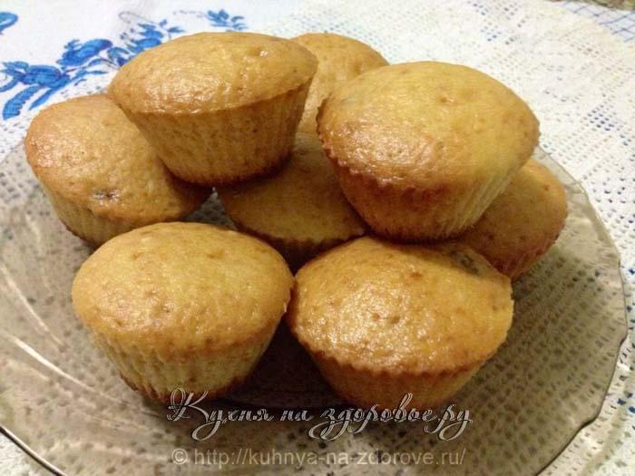 Приготовить кексы в домашних условиях на кефире 21