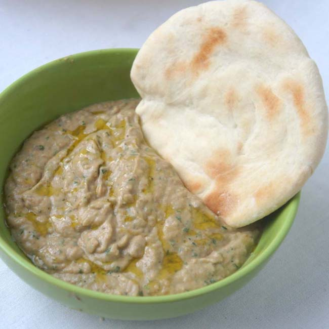 Закуска из баклажан Баба Гануш