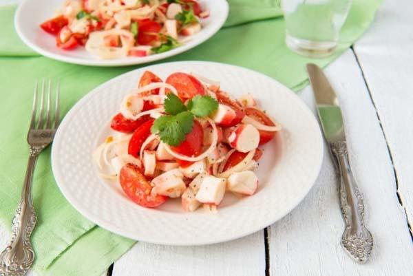 Что приготовить на зиму из помидор салаты какие